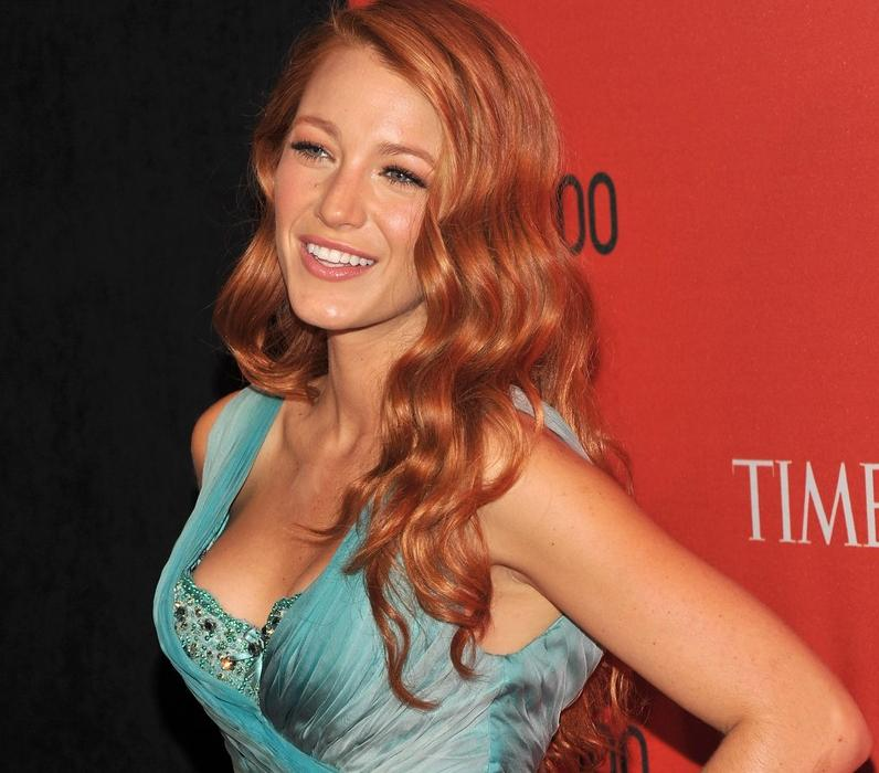 Blake lively red head fashion in the urban jungle they voltagebd Images