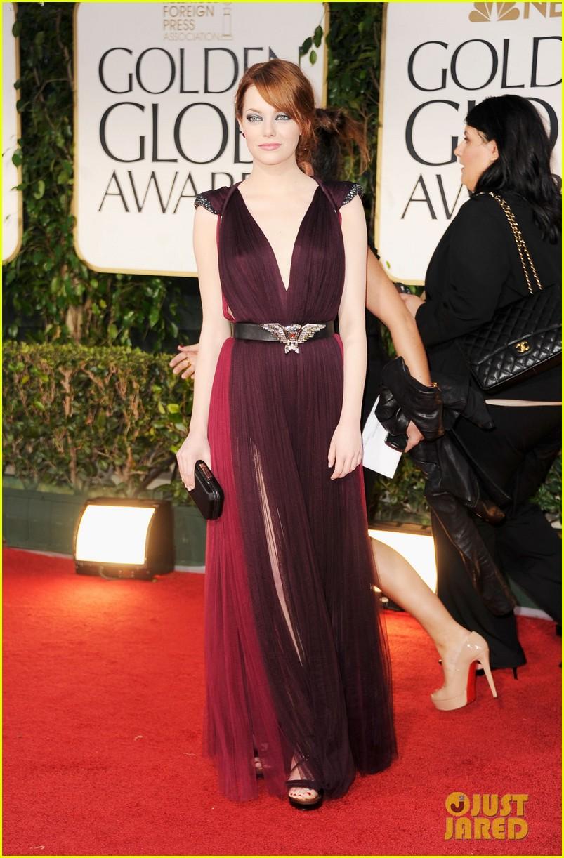 2012 Golden Globes Best Dressed | Fashion in the Urban Jungle  Emma Stone Golden Globes