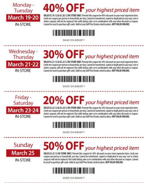 Marks coupons november 2018