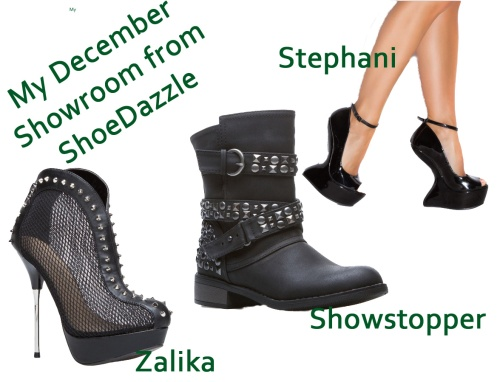 December 2012 showroom from Shoedazzle