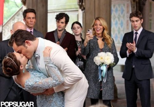 Gossip Girl Final Espisode Chuck and Blair wed