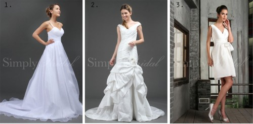Simply Bridal Wedding Dress