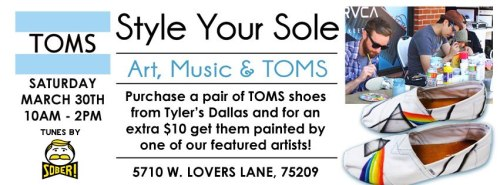Tyler's Dallas for Toms