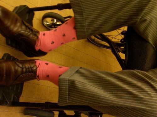 George Bush Pink Socks 03