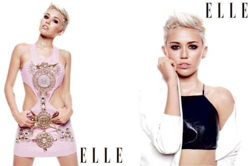 Miley Cyrus Cover Elle UK 2013 03