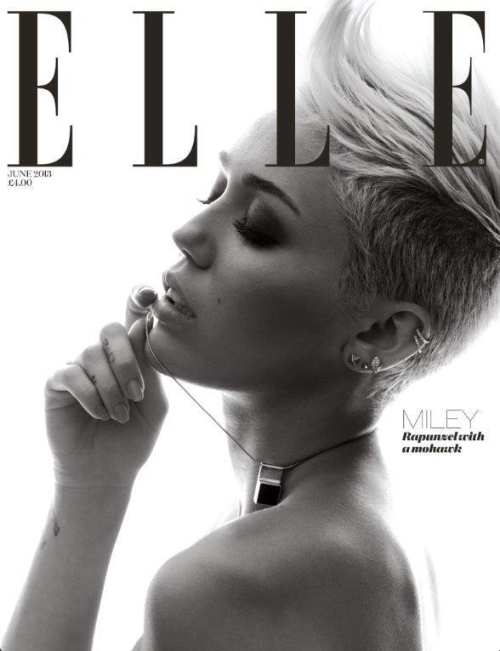 Miley Cyrus Cover Elle UK 2013 04