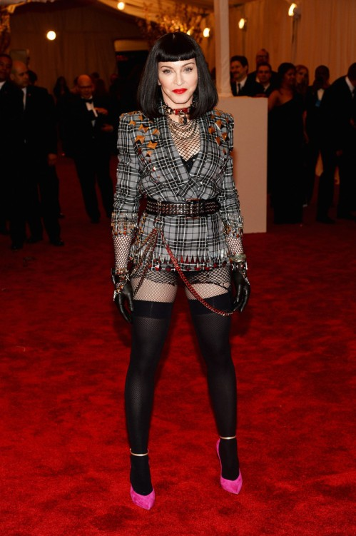 Madonna Met Gala 2013 Givenchy