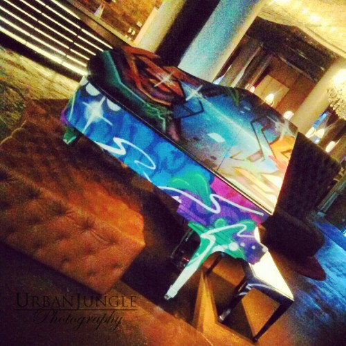 Graffit Piano NYLO Hotel Dallas