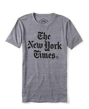 New York Times T-Shirt