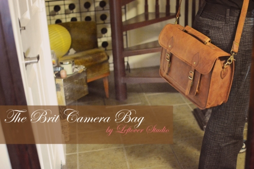 LeftOverStudio Camera Bag