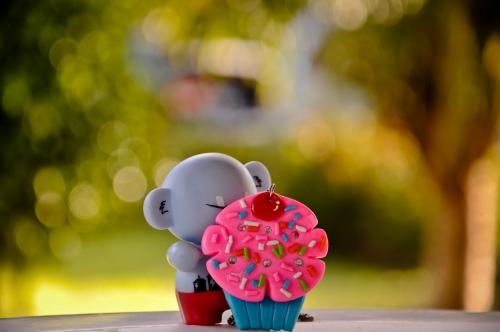 Cupcake Bokeh