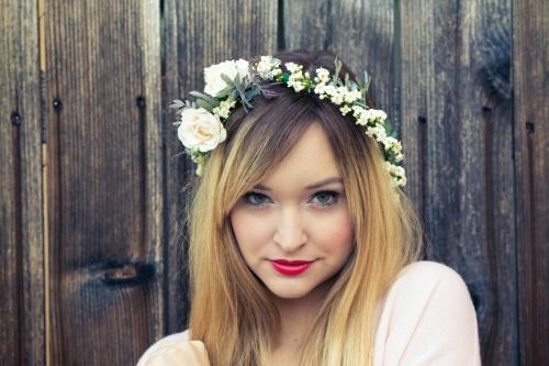 DYI Flower Headband, Floral Headband