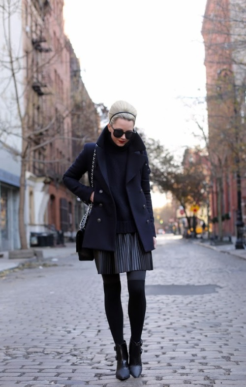 Atlantic-Pacific, Black Fashion, Street Style, New York Street Style