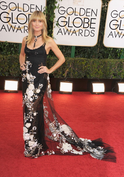 worst dress 2014 Golden Globes Heidi Klum