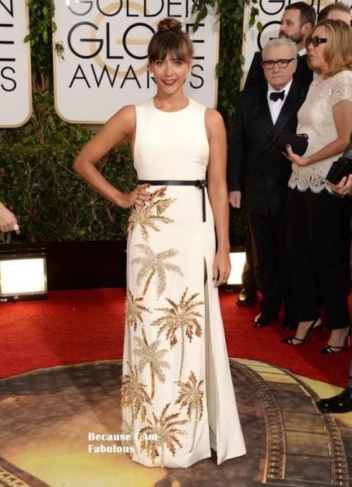 Rashida JOnes Golden Globes 2014