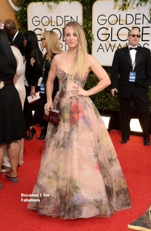 Golden Globes, Kaley Cuoco