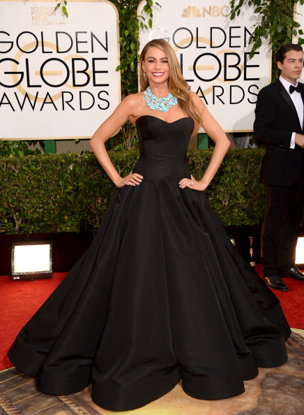Sofia Vergara 2014 GOlden Globes