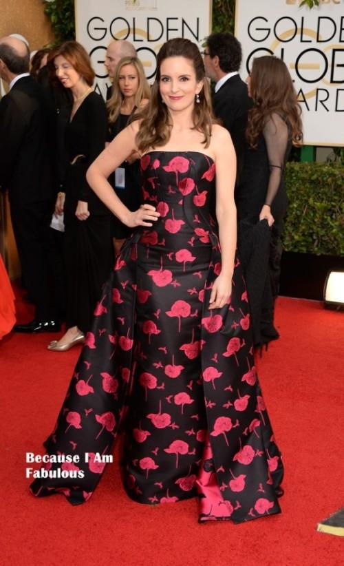 Tina Fey 2014 Golden Globes