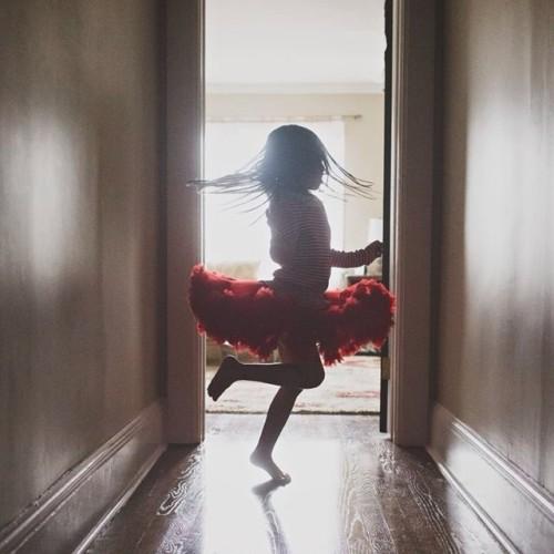 Dancing Red TuTu