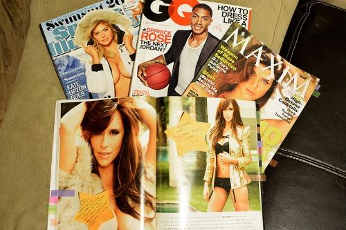 Sports Illustrated Swimsuit 2013, GQ, Maxim