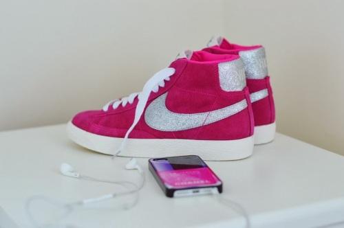 Nike Blazer Mid Suede Pink