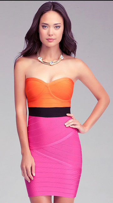 Bachelorette Party Dress, 2014, Bebe