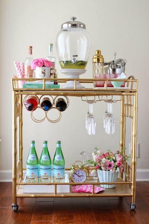 Bar Cart, Decor