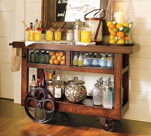 Bar Cart, Decor