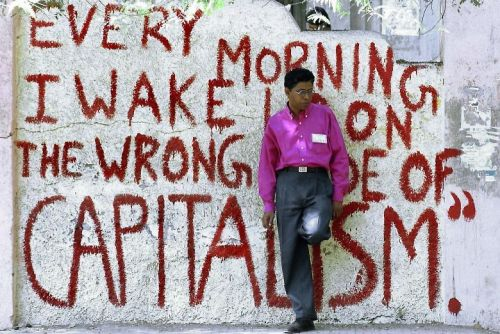 Capitalism, grafitti