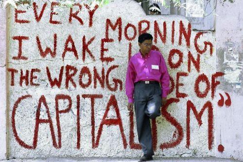 Capitalism, grafitti