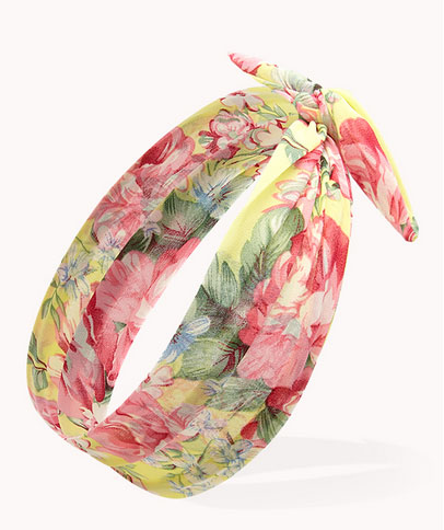 Floral Headwrap, 01, Forever 21
