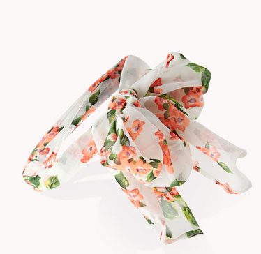 Floral Headwrap, 02, Forever 21