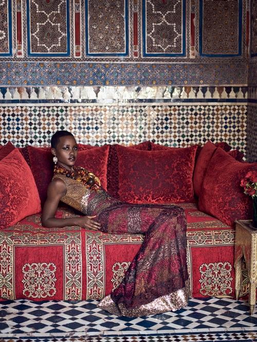 Lupita Nyongo, US Vogue, July 2014 Mikael Jansson, 01,