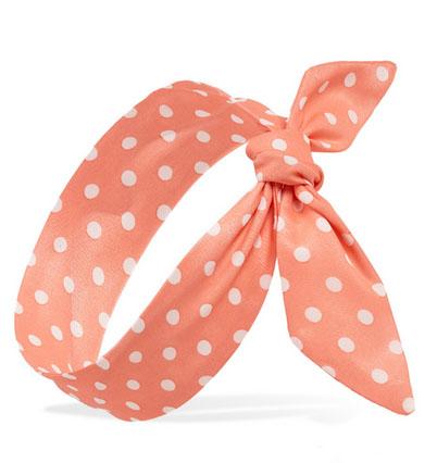 Polka Dot Headwrap, Forever 21