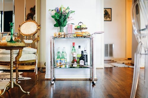 Sea of Shoes, Bar Cart