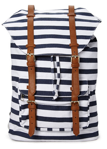 Shore Thing Canvas Backpack, Forever 21