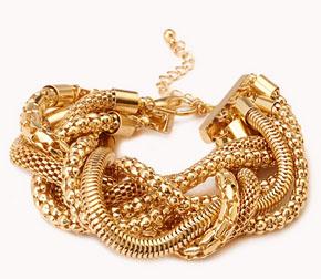 Street Chic, Gold Bracelet,
