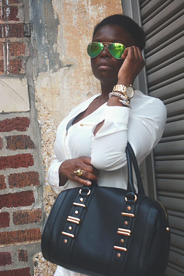 Outfit Of The Day All White Everything Fashion In The Urban Jungle