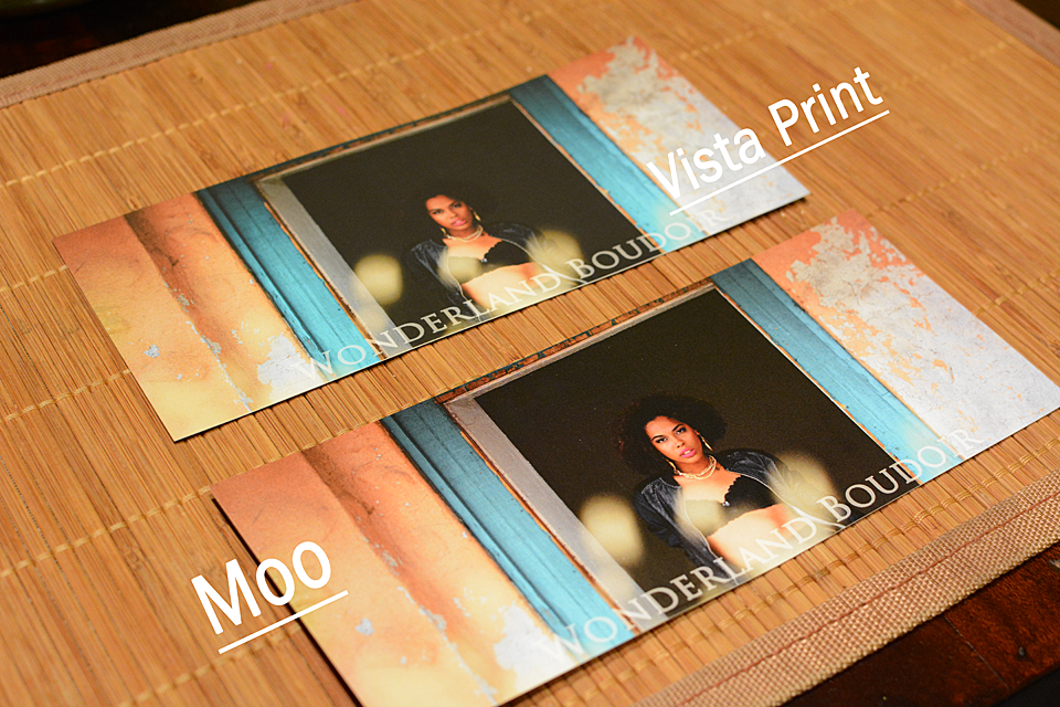 Moo versus Vista Print Quality & Price | Fashion in the Urban Jungle